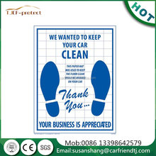 disposable craft paper foot mats disposable ldpe floor mats in roll for auto cleaning 5 kit
