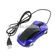 USB 3D Car Shape Optical Mice Mouse For PC Laptop