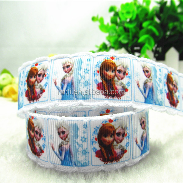 Wholesale Character Print Moonstitch Edge Grosgrain Ribbon