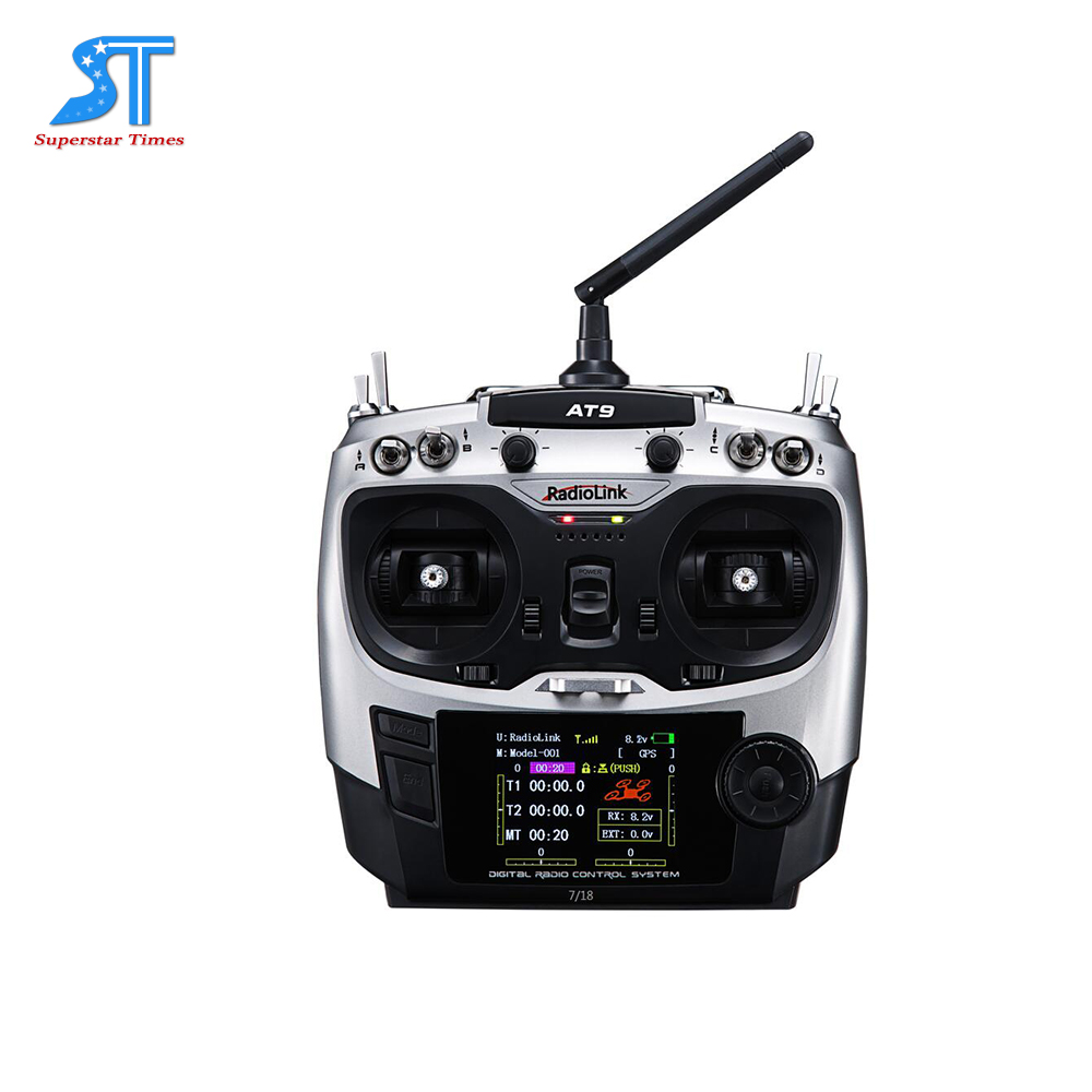 Radiolink AT9 2.4G 9 Channels universal remote controller for RC model