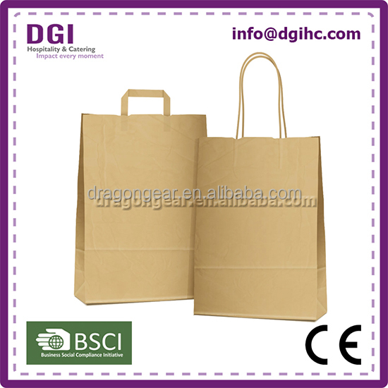 For Korea market hot-sale large gift paper bags with logo also care for environment