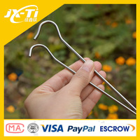 Highly Durable titanium tent peg . Professional Camping Titanium Screw