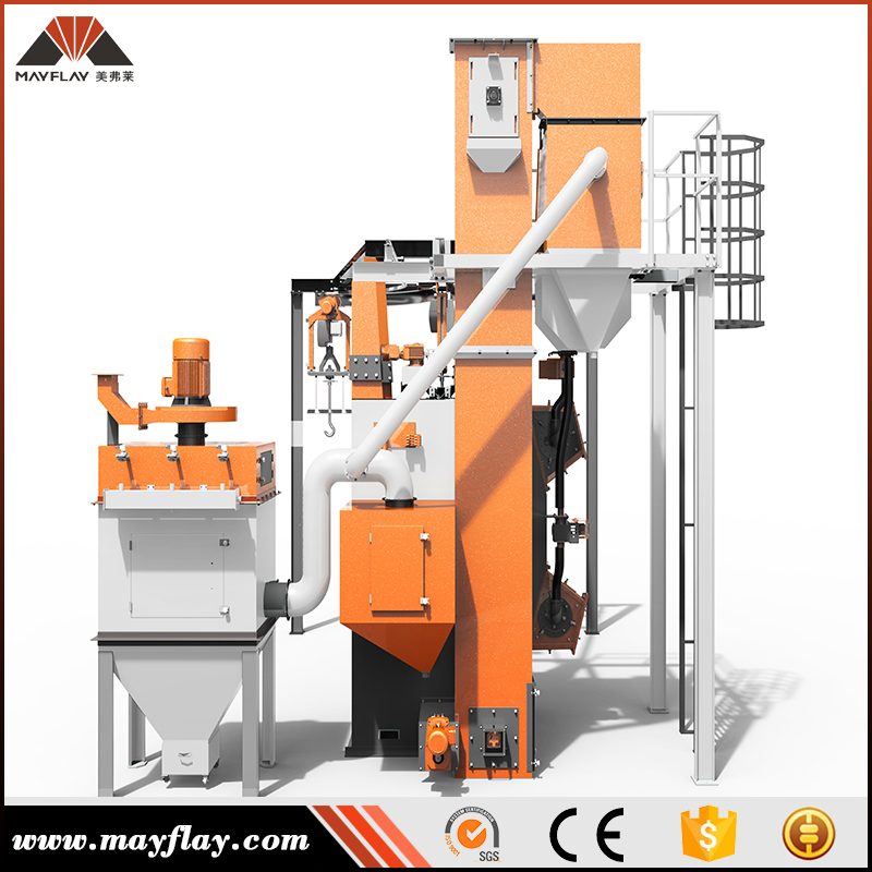 Mayflay Factory Supply Aluminum Casting Surface Cleaning Equipment