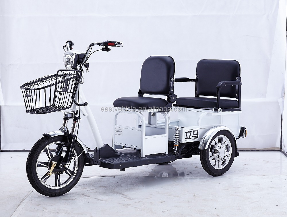 one or two seats Adult Style For Use Three Wheels Electric Bicycle Bike Motorcycle