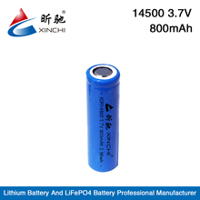 Wholesale ICR 14500 battery for yashica digital camera / lipo battery 3.7v 800mah / 3.7v 800mah li-ion battery
