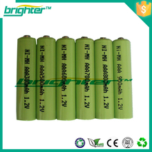 1.2v rechargeable aaa batteries nimh battery with solder tab