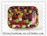 new design inrich plastic tray hot sale