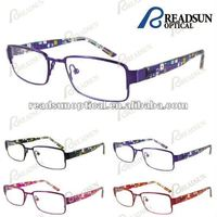 New spectacles design optical frames with TR90 temple(OMK124004A)