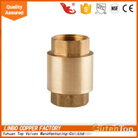 "LB-GutenTop Wye Brass Check Valve 1-1/2"" 600W Water 300S PSI Y Check Valve USA HV 1.5 Inch"