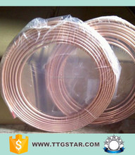 Air Condition / Refrigerator Application Pancake Coil Copper Pipe