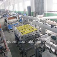 pvc plastic foam sheet production plant