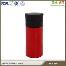 Daian 2014 promotional thermos mug insulated stainless steel vacuum flask