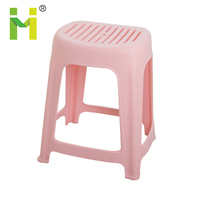 Hot Sale Cheap Rectangle Bar Stool Plastic Step Kitchen Stool Seat 12 Inch Height Convenient Super Handy plastic garden stool