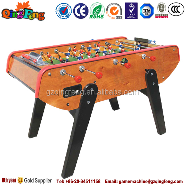 Qingfeng Christmas promotion arcade games children's mini soccer table