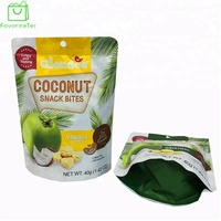 Custom Food Grade Aluminum Stand Up Waterproof Bag Freeze Dried Food Packaging Bag Mango Dry Food Bags