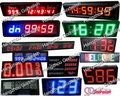 Professional marathon sports events led countdown clock with CE certificate