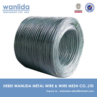 12 Gauge Hot Dipped Galvanized Woven Wire ( Gabion Wire )