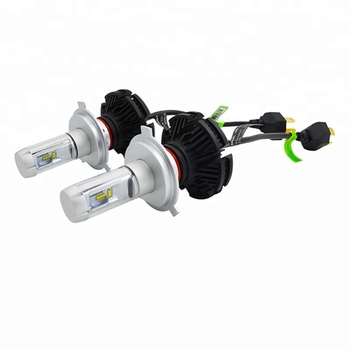 Hot sale X3 auto head lamp 50W fanless led car headlight rechargeable led headlamp