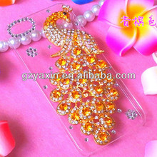 Rhinestone Mobile Cover For iPhone 6S Plus Shiny Case / Young Girl Style Phone Cover For iPhone 6S Plus Clear Diamond Case