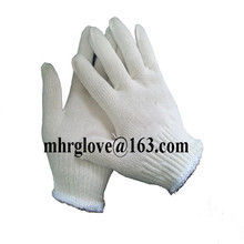 Brand MHR best selling 7gauge 10 gauge cheap white color farming safety work gloves labor protective equipment