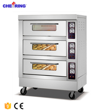 Bread bakery machinery commercial electric stainless steel outdoor pizza oven