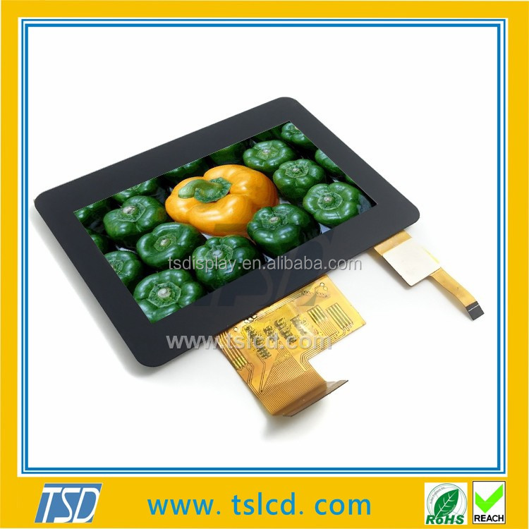 Landscape 40-Pin Oem/Odm 4.3 Inch Tft Touch Lcd Module
