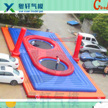 Custom inflatable tennis court/inflatable sports arena/air sports court for kids and adults