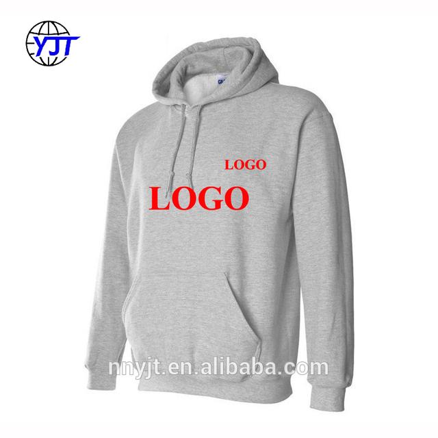 Good Quality 50% Cotton 50% Polyester Custom Printed Hoodies Men on Sale