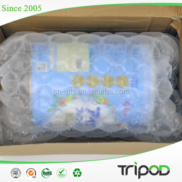 Hot Sale Air Cushion Film / Air Inflated Bubble Film Void Fill System