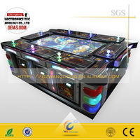 Amusement center popular and profitable video fishing game machine with ICT - (ocean king 2)