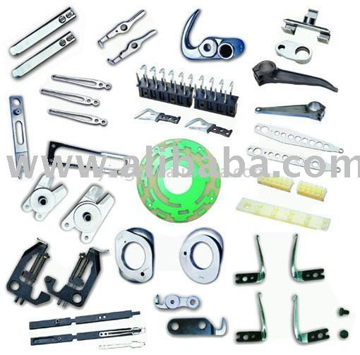 textile machine and spare parts