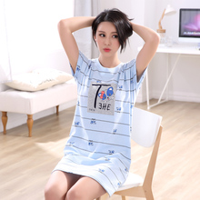 2017 Best selling leisure breathable pajamas dress
