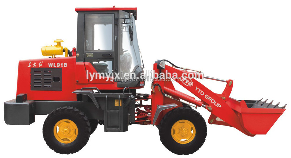 Mine Front End Fork Auto Mini wheel loader with price