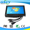 wholesale 7 Inch Car Rear View Monitor with 2 AV Ways Input 1 VGA Input