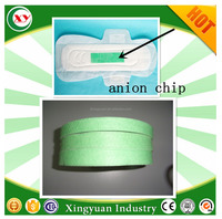 Anion strips chip for sanitary napkins products Quanzhou China