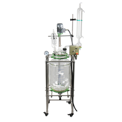 Hot sell laboratory Explosion-proof(safety) chemical jacketed glass reactor