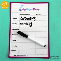 Dry erase writing board waterproof notepad whiteboard calendar