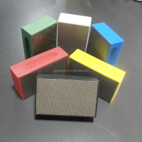 KGS Telum and Flexis granite glass stone grinding and polishing diamond abrasive hand pads