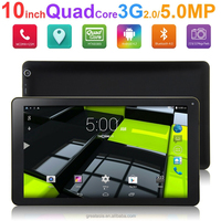 10.1 inch Tablet Quad Core 1.3GHz Tablet PC 3G Phone Call 1280x800 IPS 5.0MP Camera 2GB/32GB Android 4.2