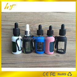 the newest design product mult color protect silicone case for 30ml glass essential oil bottle