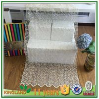 hot sale embroidery sheer curtain fabric,window curtain