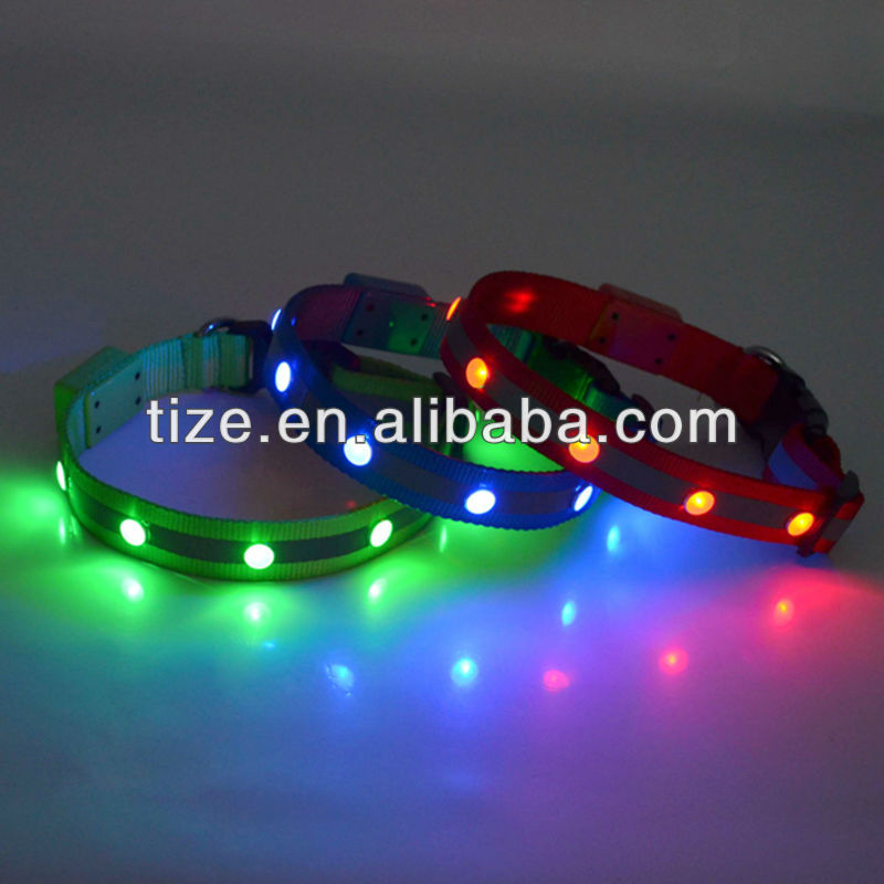 Hot Selling Plastic Led Dog Collar Buckles For Pet Accessory