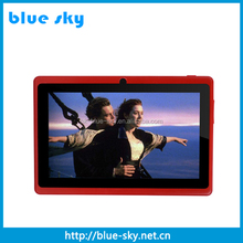 "Hot Selling 7"" Android Tablet With bluetooth, Quad Core 7"" Android Tablet Pc With Wifi Camera And 8GB Memory"