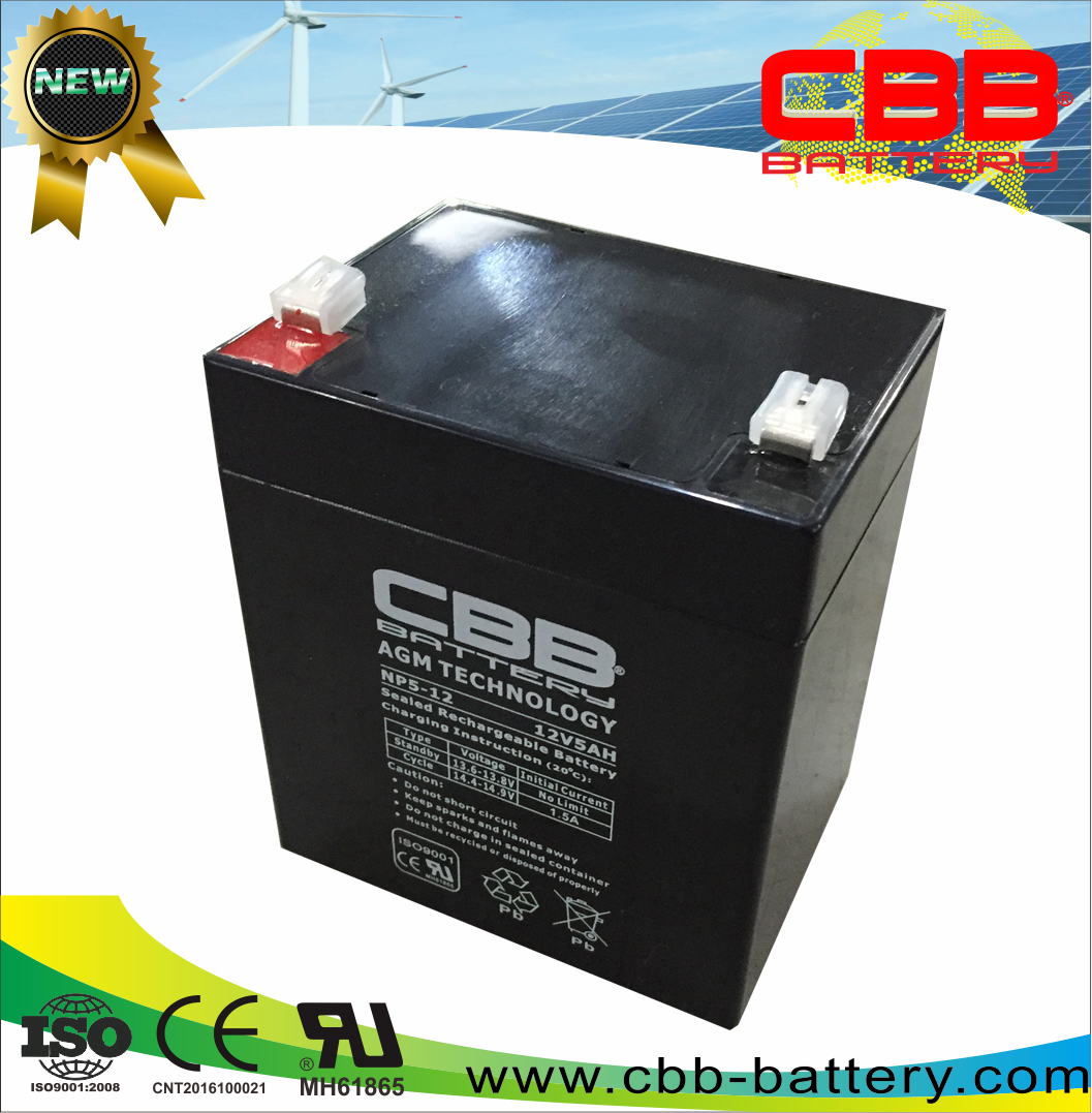 Low price and good quality free maintenance 12v5ah fire alarm battery lead acid battery