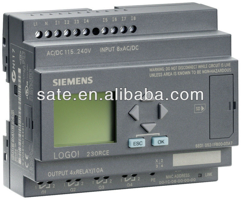 SIEMENS LOGO SIMATIC PLC POWER SUPPLIER 6EP1332-1SH43