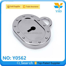 high quality customized handbag padlock for bag accessories in Guangzhou China