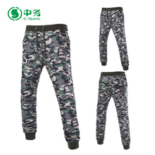New Design Outdoor Wear Sweatpants Camouflage Printed Sport Jogging Pants for Men