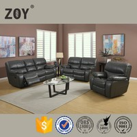 ZOY-D99310 High Quality Modern Leather Air Electric Power Sectional Recliner Sofa Set New Designs 2015
