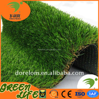 Chinese certified U shape synthetic plastic grass mat
