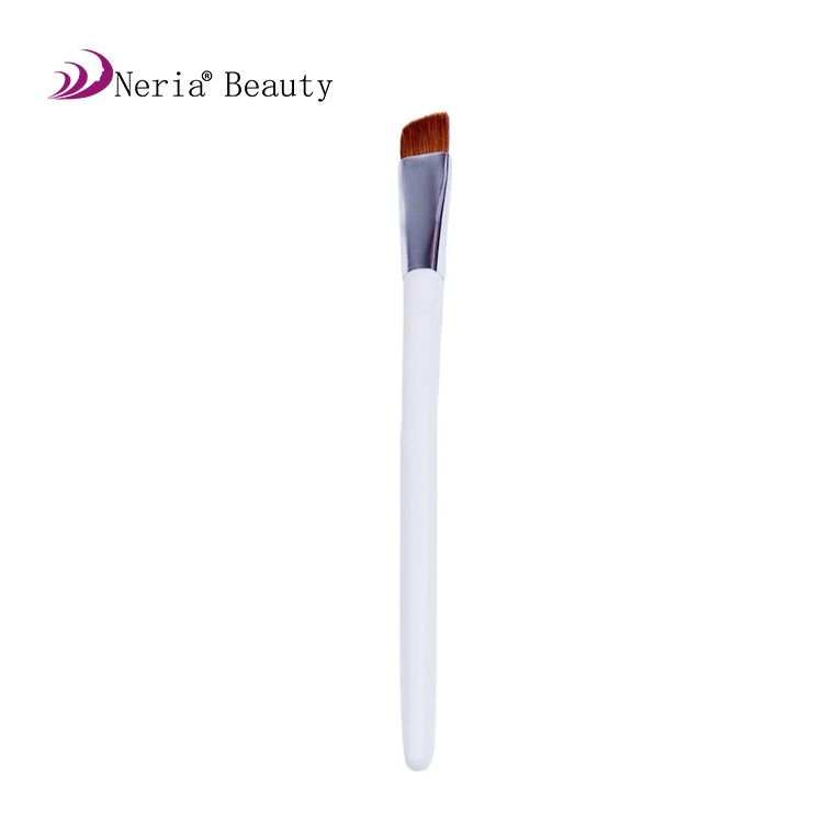 Fashion durable eyebrow cosmetic rose gold makeup brushes
